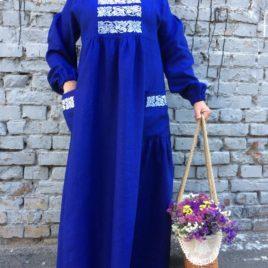 Сукня синя