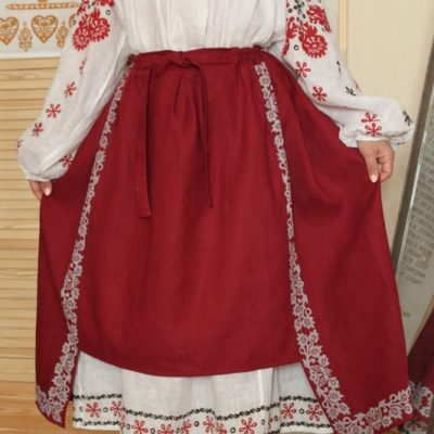 Сорочка уставкова звичайна (вся Україна) та спідниця