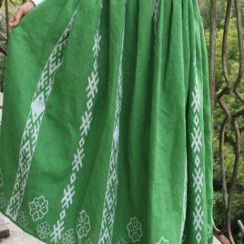Спідниця зелена