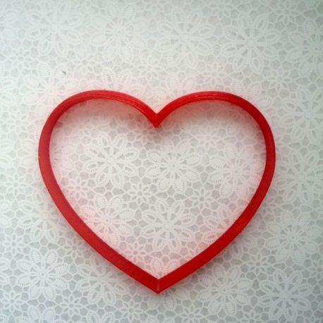 Серце 11см*10см