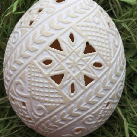 Писанка на страусиному яйці
